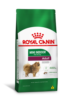 RAÇÃO ROYAL CANIN MINI INDOOR ADULT