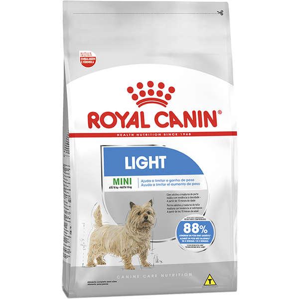 Ração Royal Canin Mini Light para Cães Adultos de Raças Pequenas 1Kg