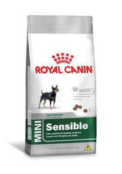Ração Royal Canin Mini Sensible para Cães Adultos de Raças Pequenas 1Kg