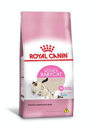 Ração Royal Canin Feline Mother & Baby para Gatos Filhotes de 1 a 4 Meses de Idade 7,5kg