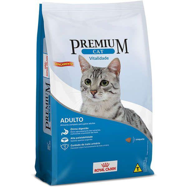 Ração Royal Canin Premium Cat Vitalidade 10Kg