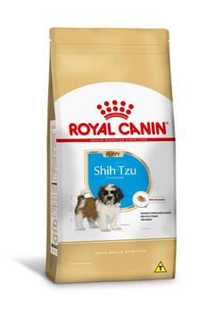 Ração Royal Canin Shih Tzu Puppy para Cães Filhotes 1Kg