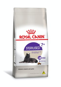 RAÇÃO ROYAL CANIN STERILISED 7+ 1,5KG