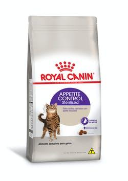 RAÇÃO ROYAL CANIN STERILISED APPETITE 1,5KG