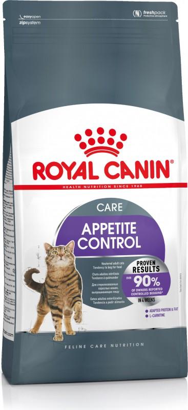 Ração Royal Canin Sterilised Appetite Control para Gatos Adultos Castrados com Apetite Insaciável 1,5Kg