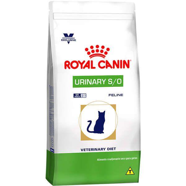 RAÇÃO ROYAL CANIN URINARY S/O FELINE 7,5KG