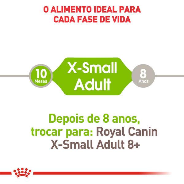 Ração Royal Canin para Cães Adultos X-Small 1 Kg