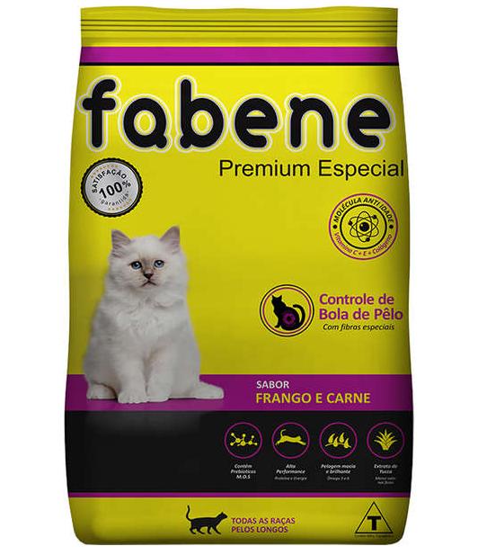 Ração Seca Fabene Premium Especial para Gatos Adultos 10,1kg