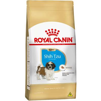 Ração Seca Royal Canin Puppy Shih Tzu para Cães Filhotes 2,5 Kg