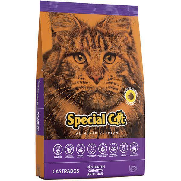 Ração Special Cat para Gatos Castrados 10,1 Kg