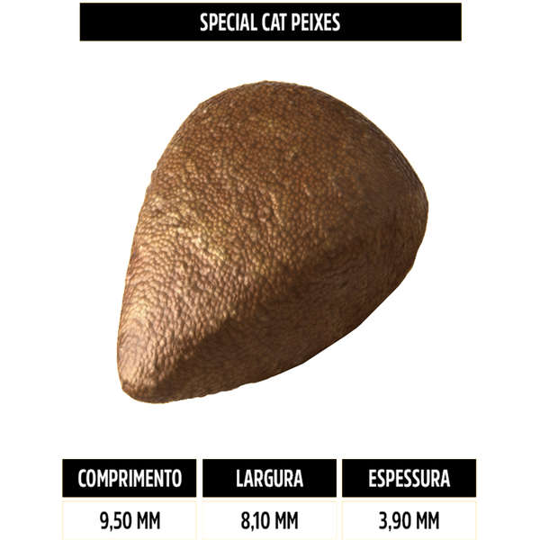 Ração Special Cat para Gatos Adultos Sabor Peixe 10,1 Kg