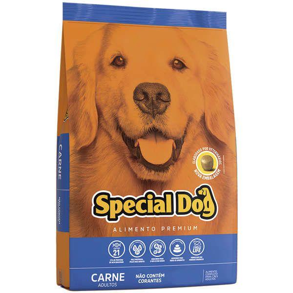 Ração Special Dog para Cães Adultos Sabor Carne