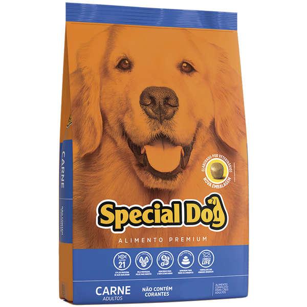 Ração Special Dog para Cães Adultos Sabor Carne 20 Kg