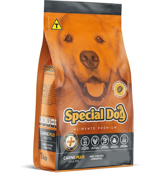 Ração Special Dog para Cães Adultos Sabor Carne Plus 10Kg