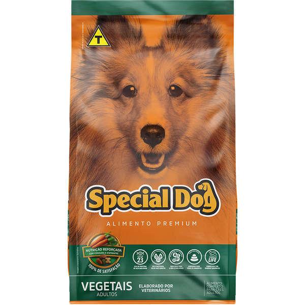 Ração Special Dog para Cães Adultos Sabor Vegetais 10 Kg