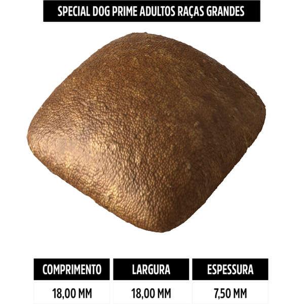 Ração Special Dog Prime para Cães Adultos de Raças Grandes 15 Kg