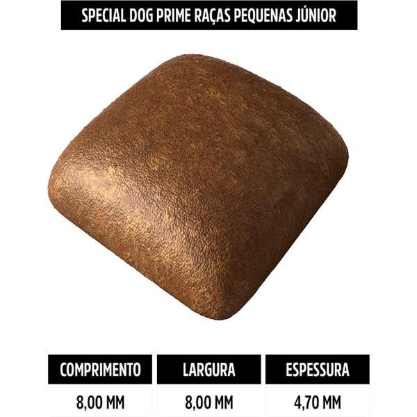 Ração Special Dog Prime para Cães Filhotes de Raças Pequenas 3 Kg