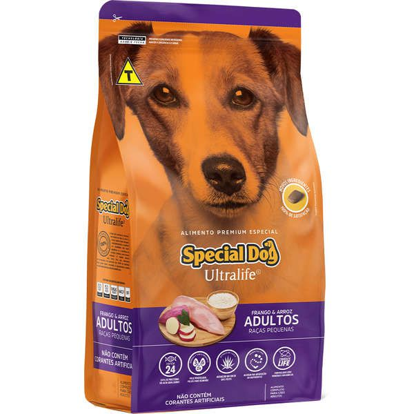 Ração Special Dog Ultralife para Cães Adultos de Raças Pequenas 15 Kg