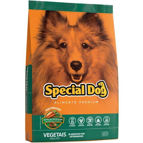 Ração Special Dog para Cães Adultos Sabor Vegetais 15 Kg
