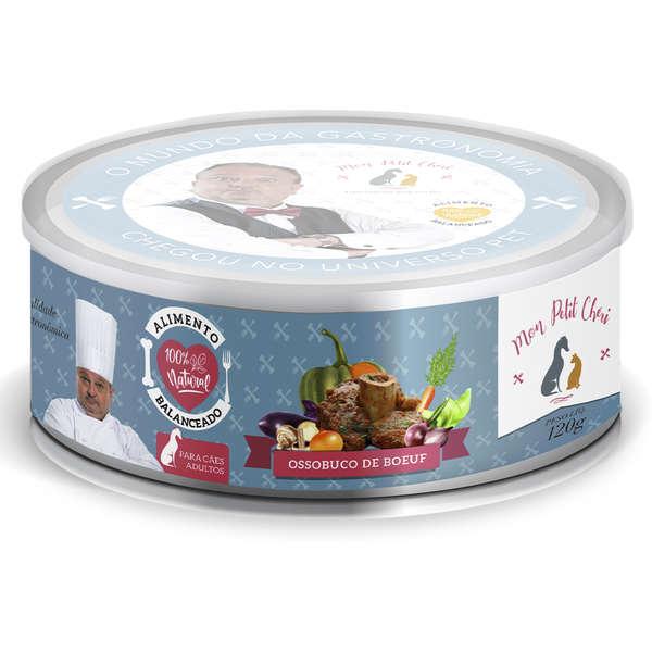 Ração Úmida Natural Mon Petit Chéri Carne para Cães Adultos 120g