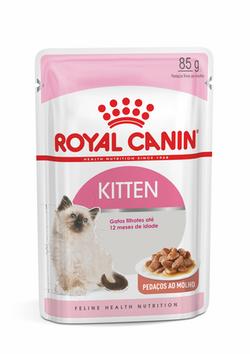 Ração Úmida Sachê Royal Canin Kitten para gatos Filhotes com até 12 meses de Idade 85g