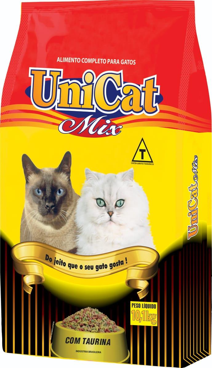 Ração Unicat Mix para Gatos 10 Kg