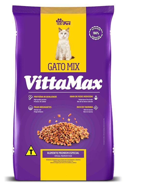 Ração VittaMax para Gatos Mix 10Kg