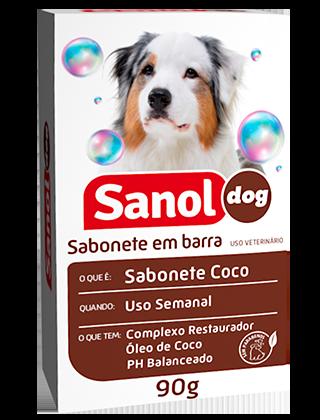 Sabonete em Barra Sanol Dog Coco 90G
