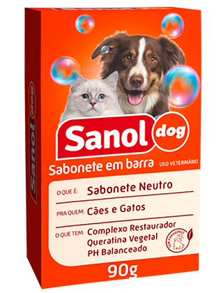 SABONETE EM BARRA SANOL DOG NEUTRO 90G