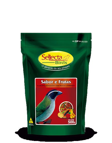 Sabor e Frutas 500g - Sellecta Birds