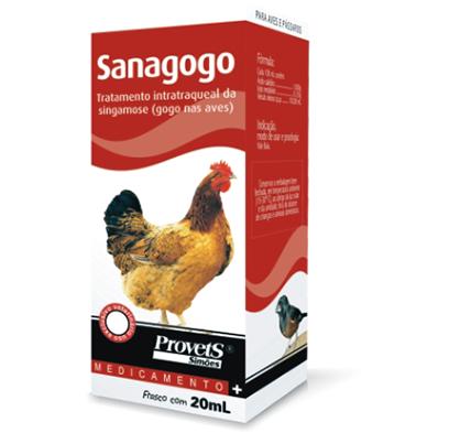 Sanagogo Avícula Simões Oral 20ml