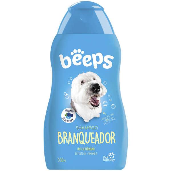 Shampoo Branqueador para Cães Beeps - 500 mL