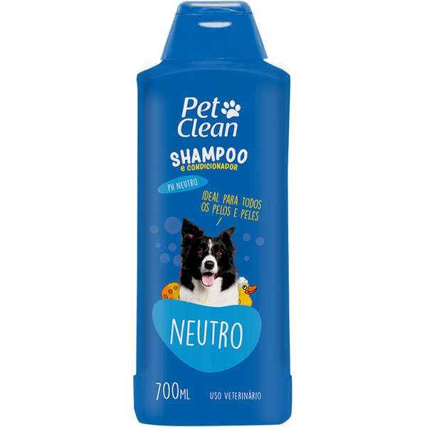 SHAMPOO E CONDICIONADOR PET CLEAN NEUTRO 700ML