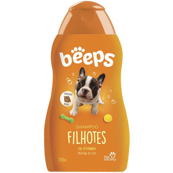 Shampoo Filhotes para Cães Beeps - 500 mL