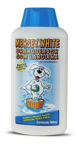 Shampoo Mersey White Branqueador com Lanolina 500 ml