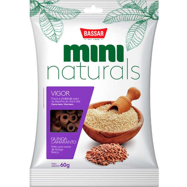 Snack Bassar Mini Naturals Vigor Quinoa & Amaranto 60g