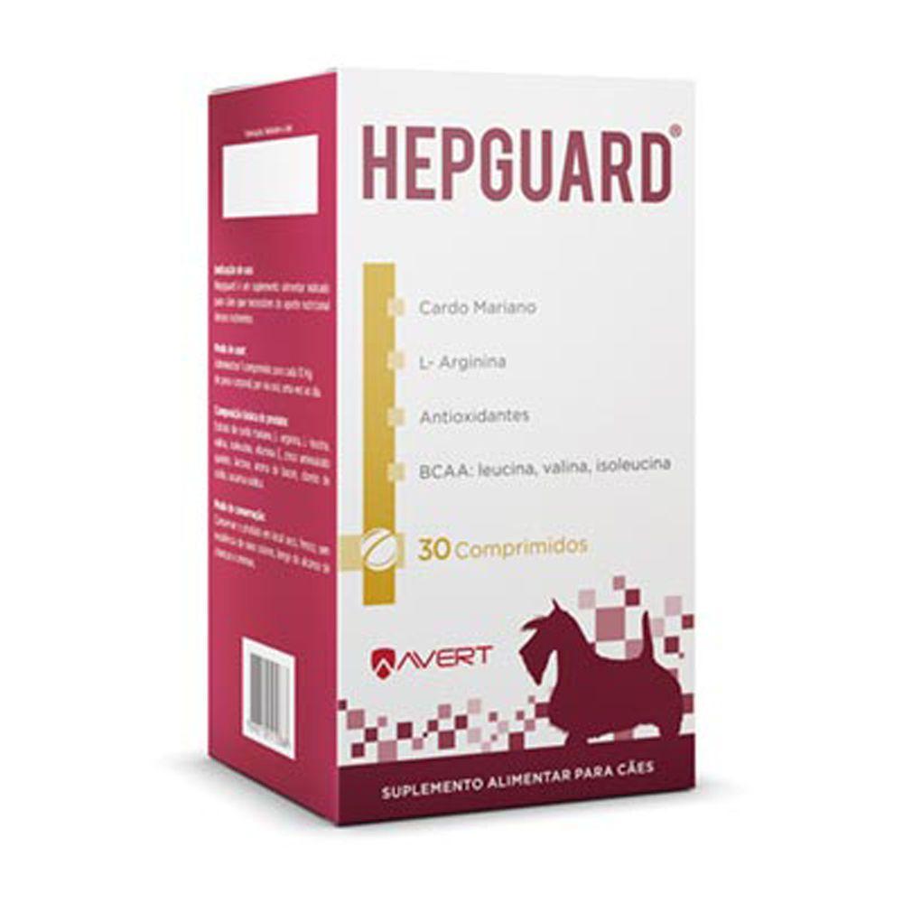 Suplemento Avert Hepguard - 30 Comprimidos