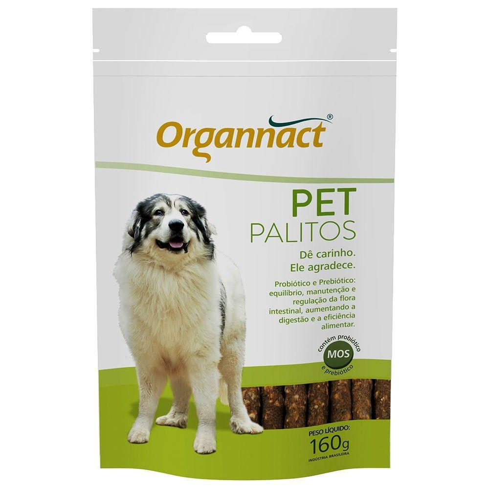Suplemento Organnact Para Cães Petpalitos Sachê - 160g