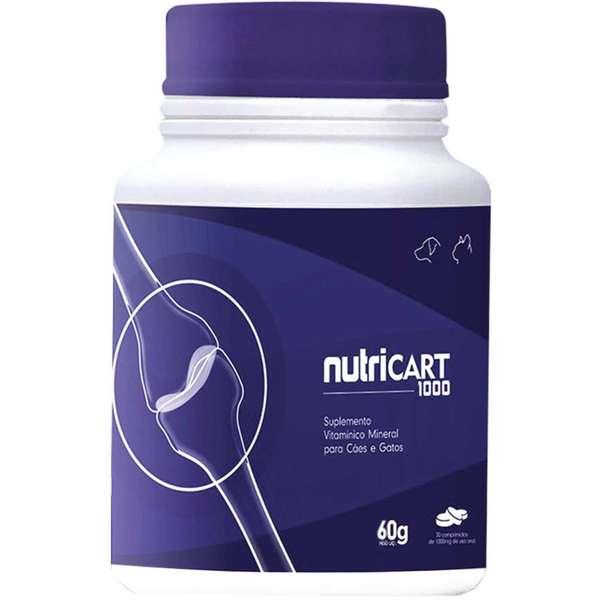 Suplemento Vitamínico Nutricart 1000 60 Comprimidos