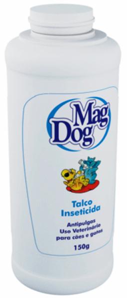 Talco Antipulgas MagDog Para Cães e Gatos 150g