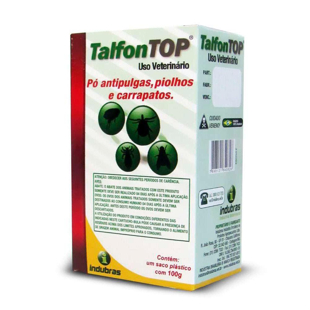 Talfon Top - Pacote - Cipermetrina - 100 g
