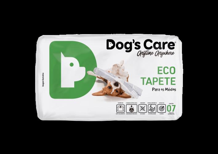 Tapete Higiênico Dog's Care Eco Para Cães Médios