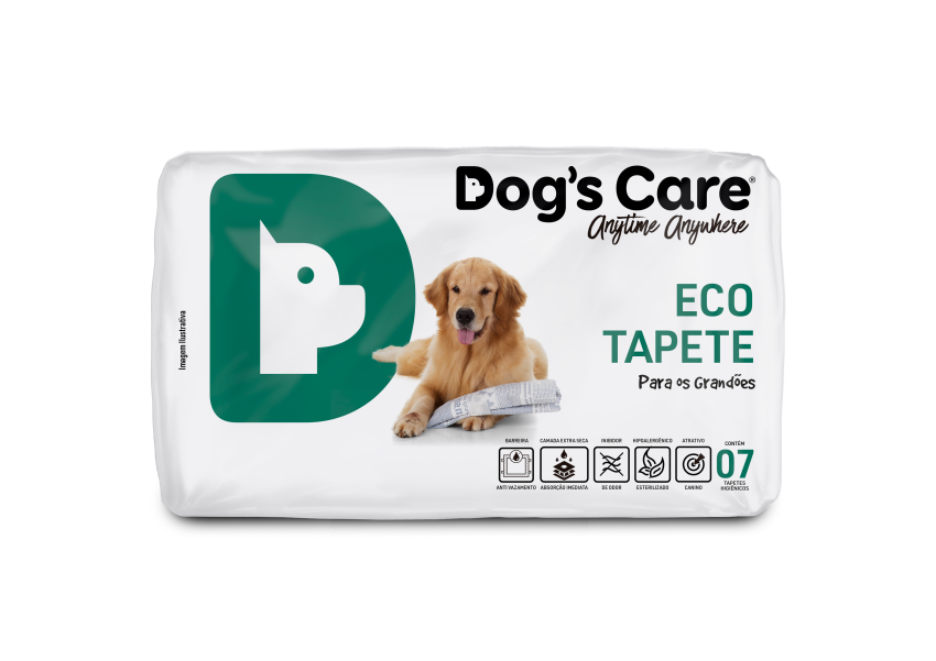 TAPETE HIGIÊNICO DOG'S CARE ECO PARA CÃES GRANDES
