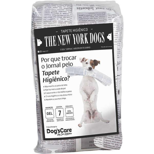 Tapete Higiênico Dog's Care The New York Dogs 80x60 cm