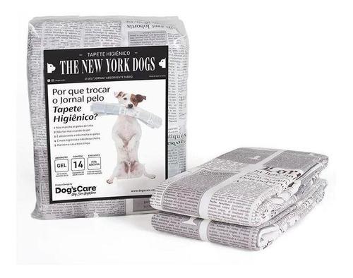 Tapete Higiênico Dog's Care The New York Dogs 55x60 cm 14 Unidades