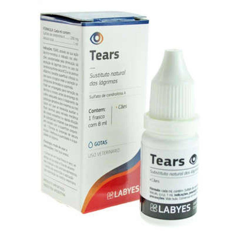 Tears Colírio Substituto Das Lágrimas - 8 Ml