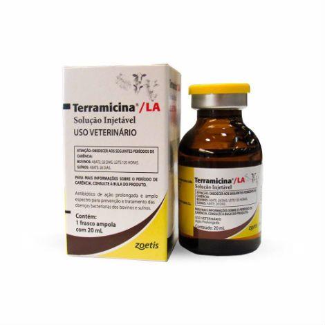 Terramicina LA Injetável 20ml - Zoetis