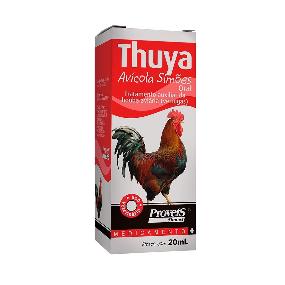 Thuya Avícola Simões Oral 20ml