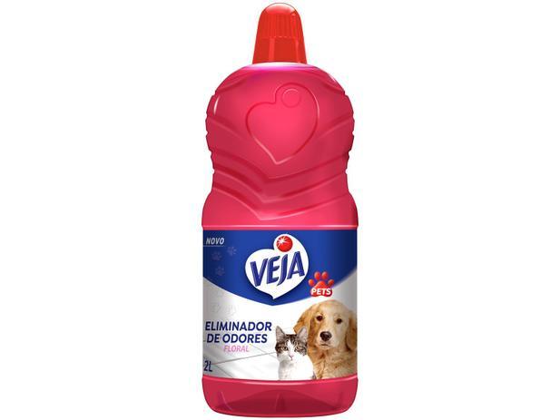 Veja Eliminador De Odores Floral 2L