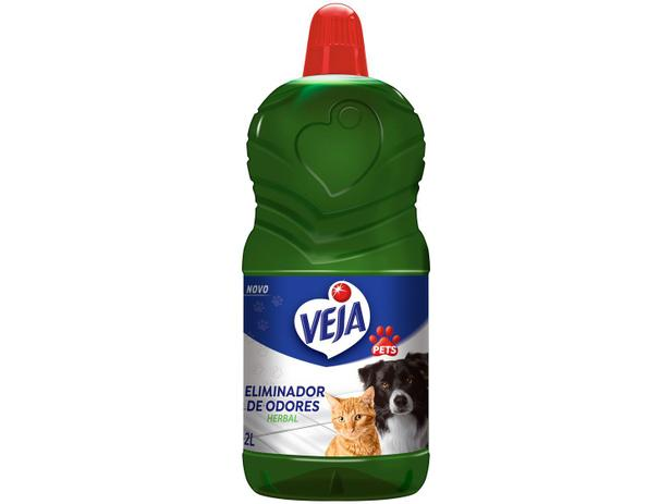 Veja Eliminador De Odores Herbal 2L